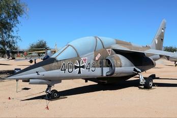 40+49 - Germany - Air Force Dassault - Dornier Alpha Jet A