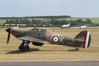 F-AZXR - Private Hawker Hurricane I