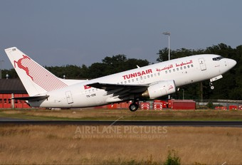 TS-ION - Tunisair Boeing 737-600