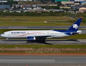 N774AM - Aeromexico Boeing 777-200ER