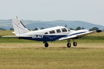 OK-ALY - Private Piper PA-34 Seneca