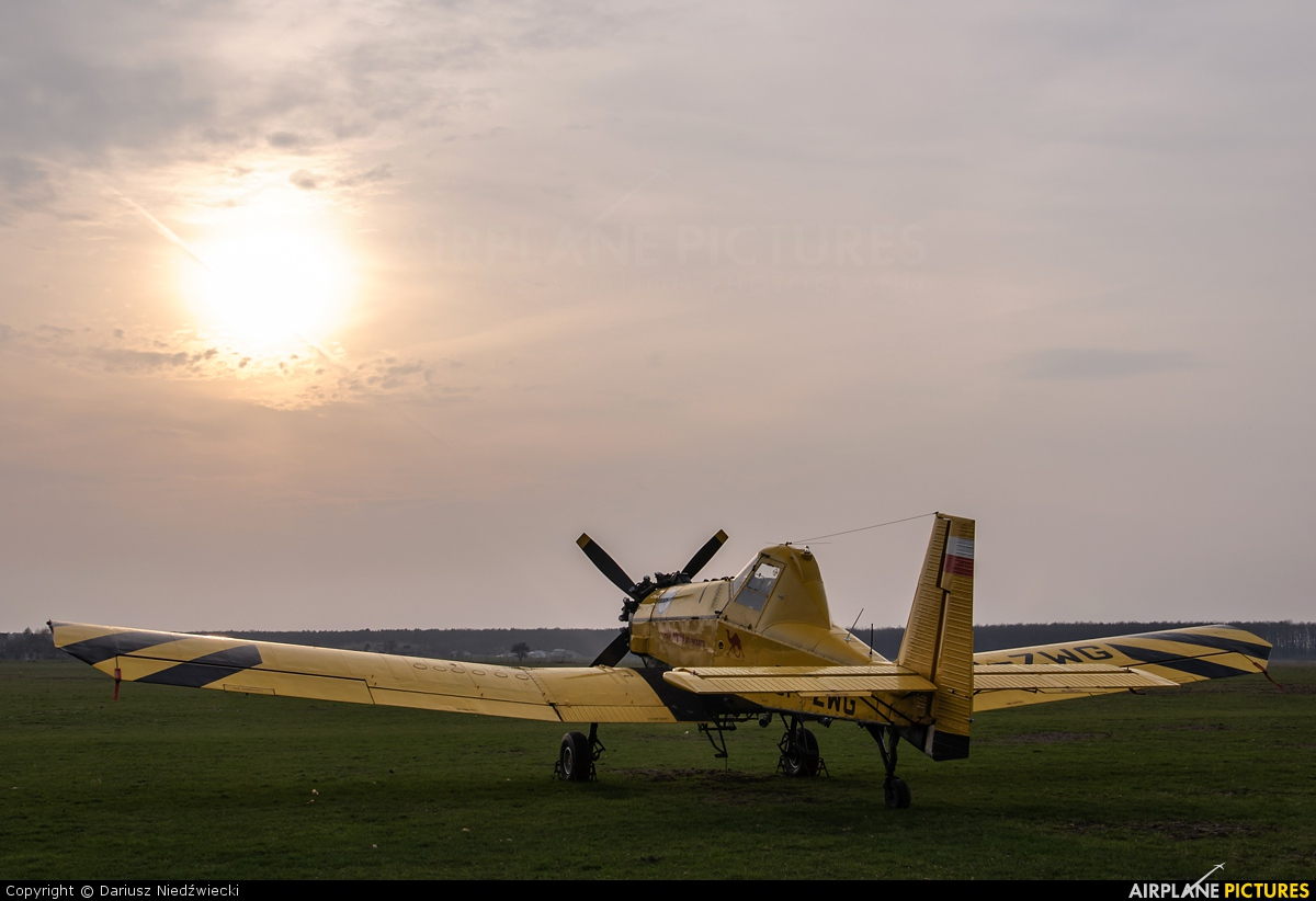 ZUA Mielec SP-ZWG aircraft at Lublin Radawiec