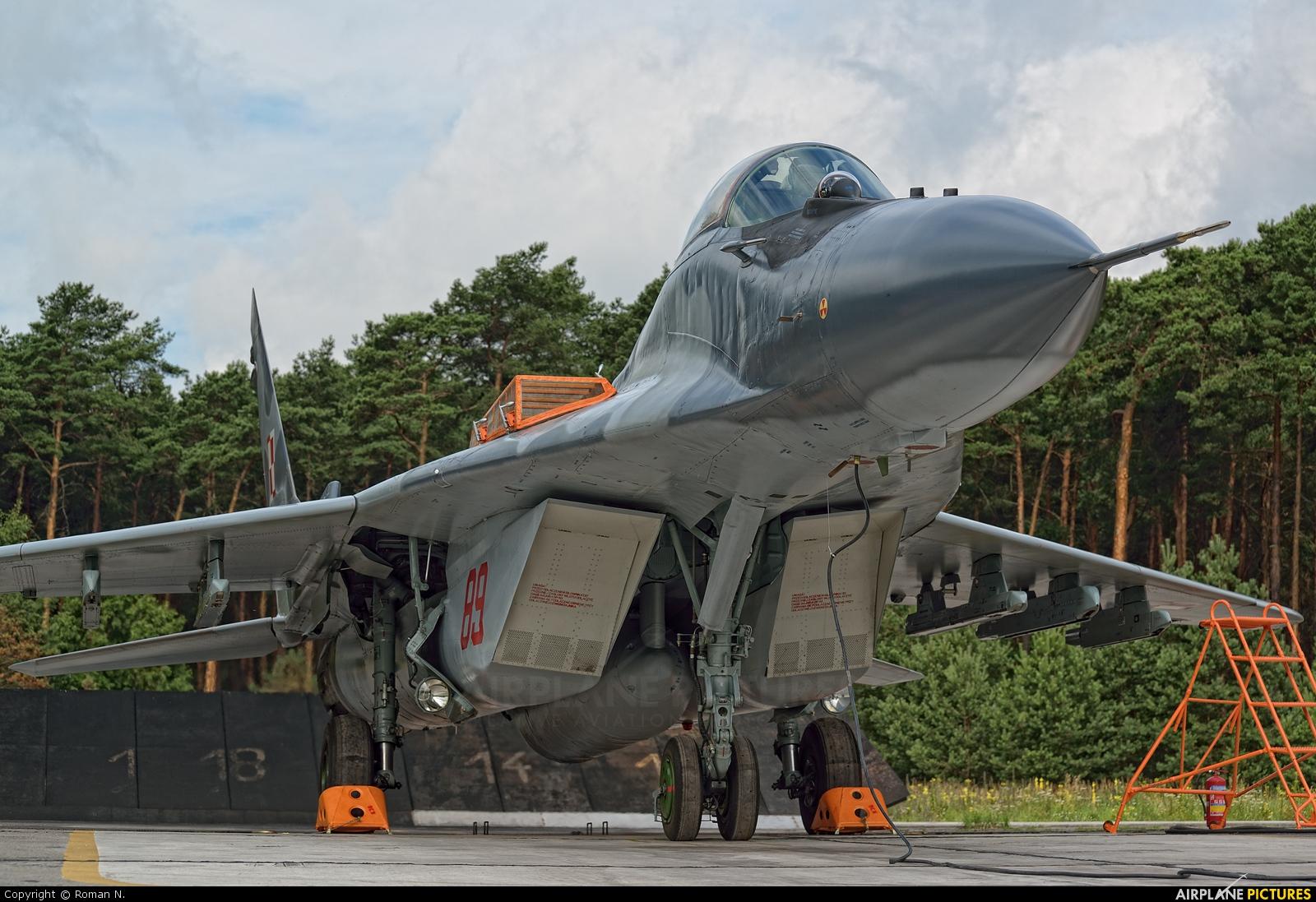 Poland - Air Force 89 aircraft at Bydgoszcz - Szwederowo