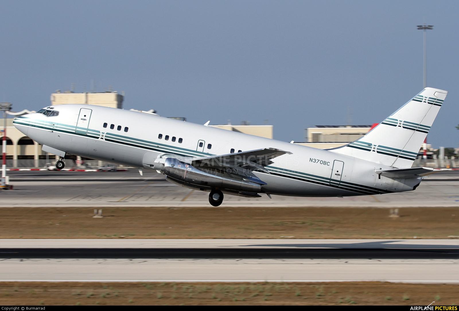 Private N370BC aircraft at Malta Intl