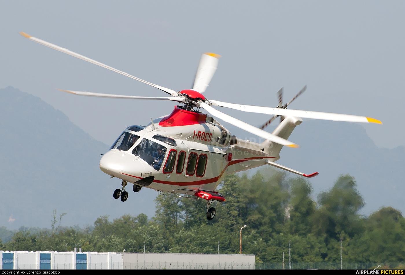 Agusta Westland I-ROCS aircraft at Venegono