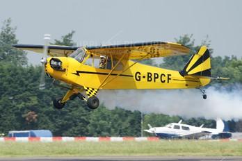 G-BPCF - Private Piper J3 Cub