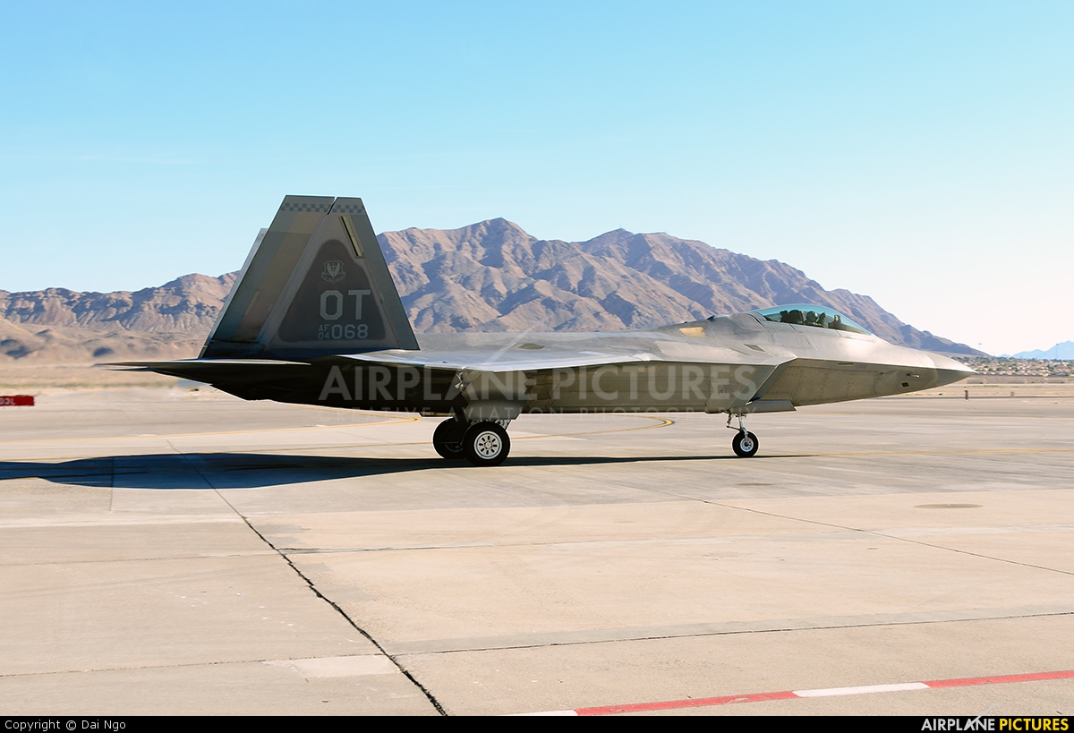 USA - Air Force 04-4068 aircraft at Nellis AFB