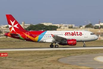 9H-AEL - Air Malta Airbus A319