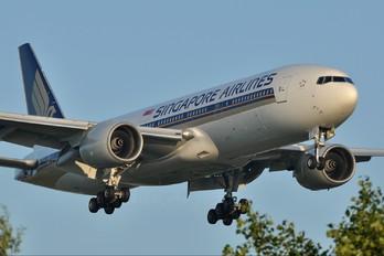 9V-SVJ - Singapore Airlines Boeing 777-200ER