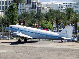 4X-AES - Arkia Douglas C-47A Skytrain