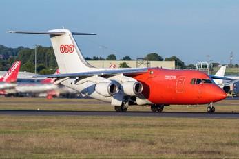 OO-TAU - TNT British Aerospace BAe 146-200/Avro RJ85-QT Quiet Trader