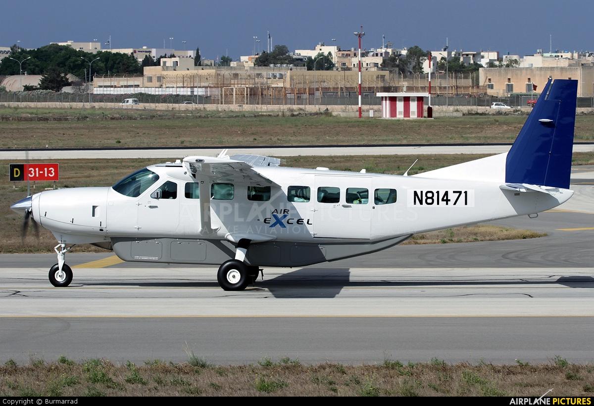 Air Excel N81471 aircraft at Malta Intl
