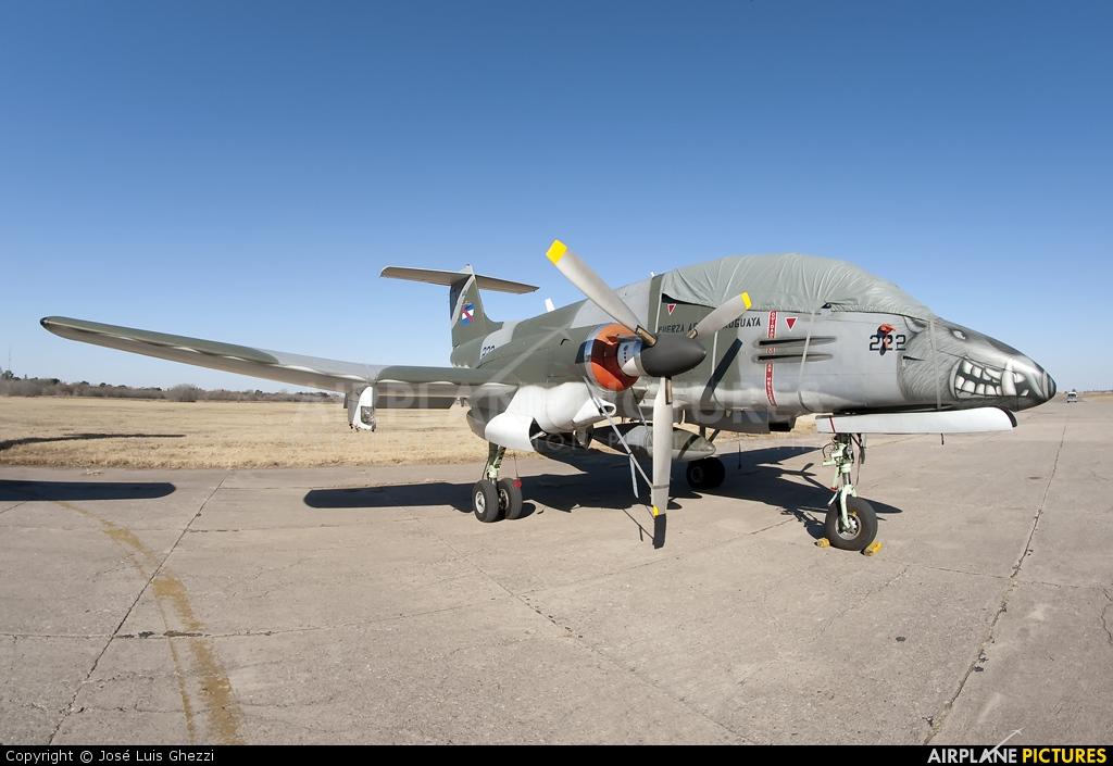 Uruguay - Air Force 222 aircraft at Cordoba - Escuela de Aviación Militar