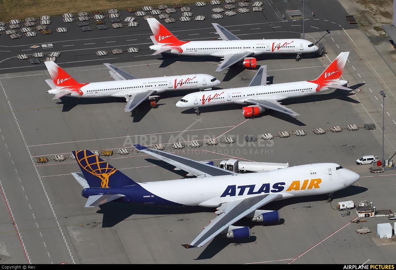 Atlas Air N418MC aircraft at Frankfurt - Hahn