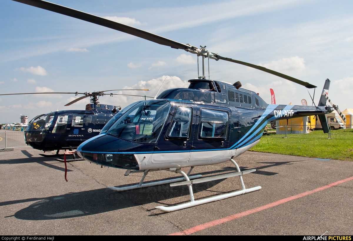 Blue Sky Service OK-AHF aircraft at Hradec Králové