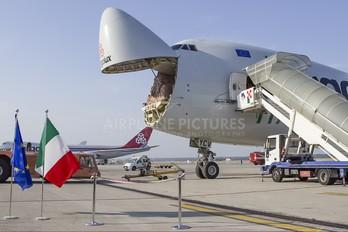 LX-YCV - Cargolux Italia Boeing 747-400F, ERF