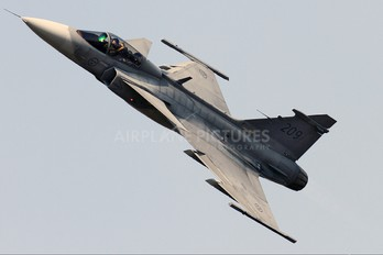 39209 - Sweden - Air Force SAAB JAS 39C Gripen
