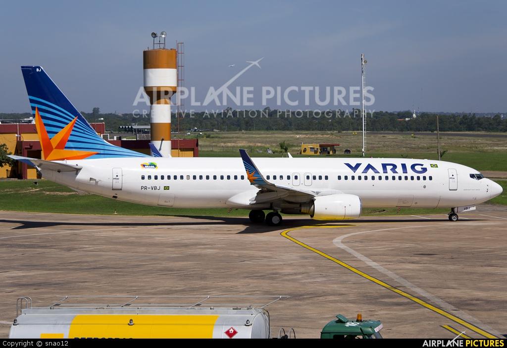 VARIG PR-VBJ aircraft at Asuncion - Silvio Pettirossi Intl
