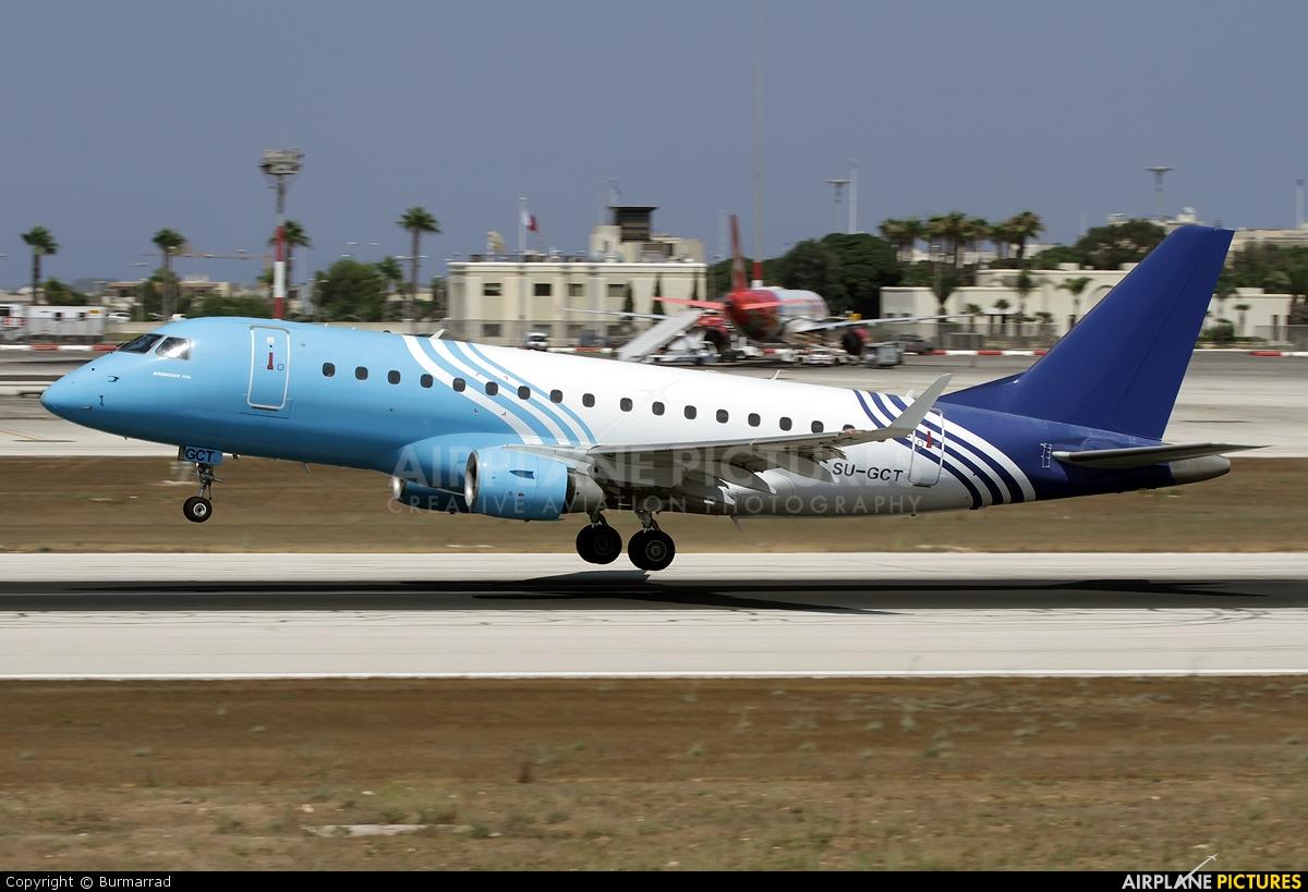 Air Sinai SU-GCT aircraft at Malta Intl