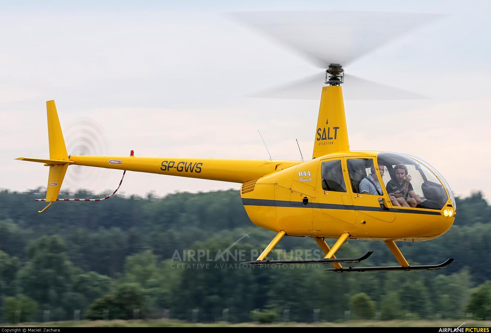 Salt Aviation SP-GWS aircraft at Gryźliny