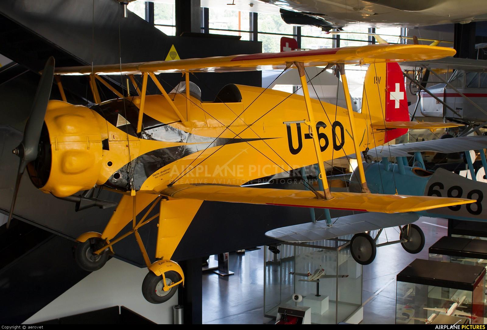 Switzerland - Air Force U-60 aircraft at Lucerne - Swiss Transport Museum