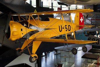 U-60 - Switzerland - Air Force Bücker Bü.133 Jungmeister