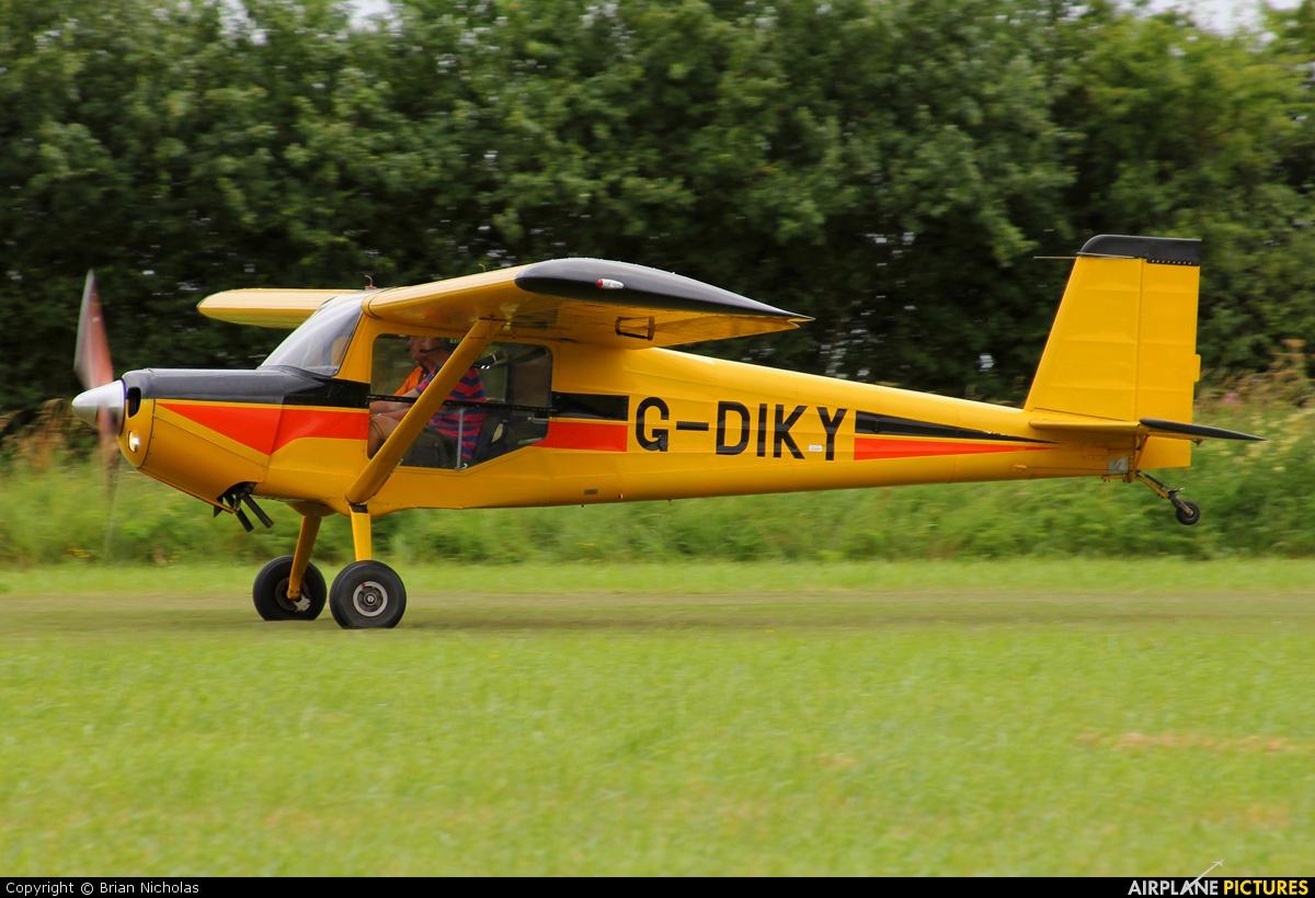 Private G-DIKY aircraft at Stoke Golding