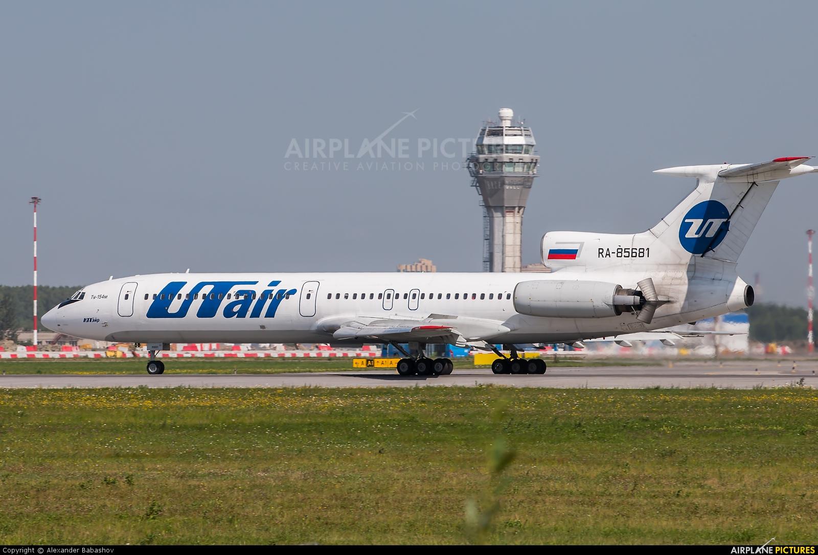 UTair Tupolev Tu-154 85681