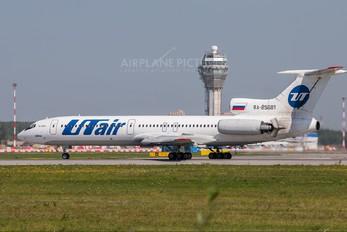 85681 - UTair Tupolev Tu-154