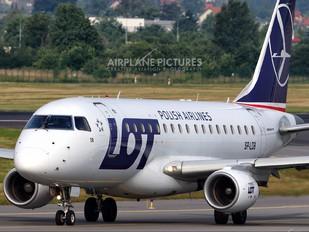 SP-LDB - LOT - Polish Airlines Embraer ERJ-170 (170-100)