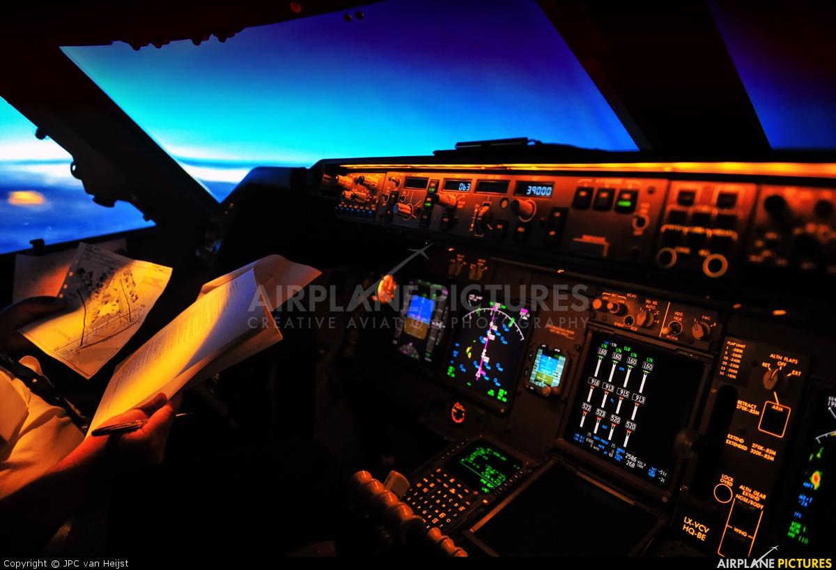 Cargolux LX-VCV aircraft at In Flight - Virginia