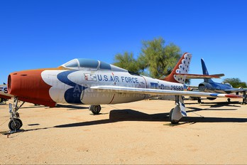 52-6563 - USA - Air Force : Thunderbirds Republic F-84F Thunderstreak