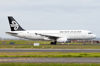 ZK-OJS - Air New Zealand Airbus A320