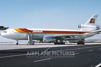 EC-CSJ - Iberia McDonnell Douglas DC-10-30