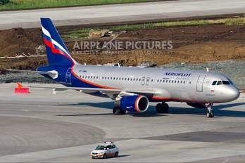 VP-BWM - Aeroflot Airbus A320