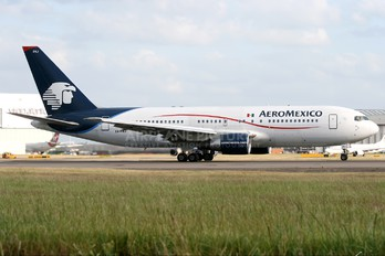 XA-FRJ - Aeromexico Boeing 767-200ER