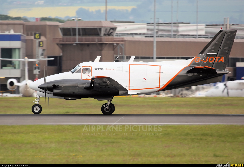 Jota Aviation G-JOTA aircraft at Edinburgh
