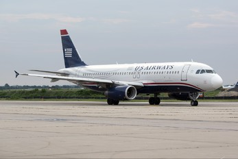 N649AW - US Airways Airbus A320