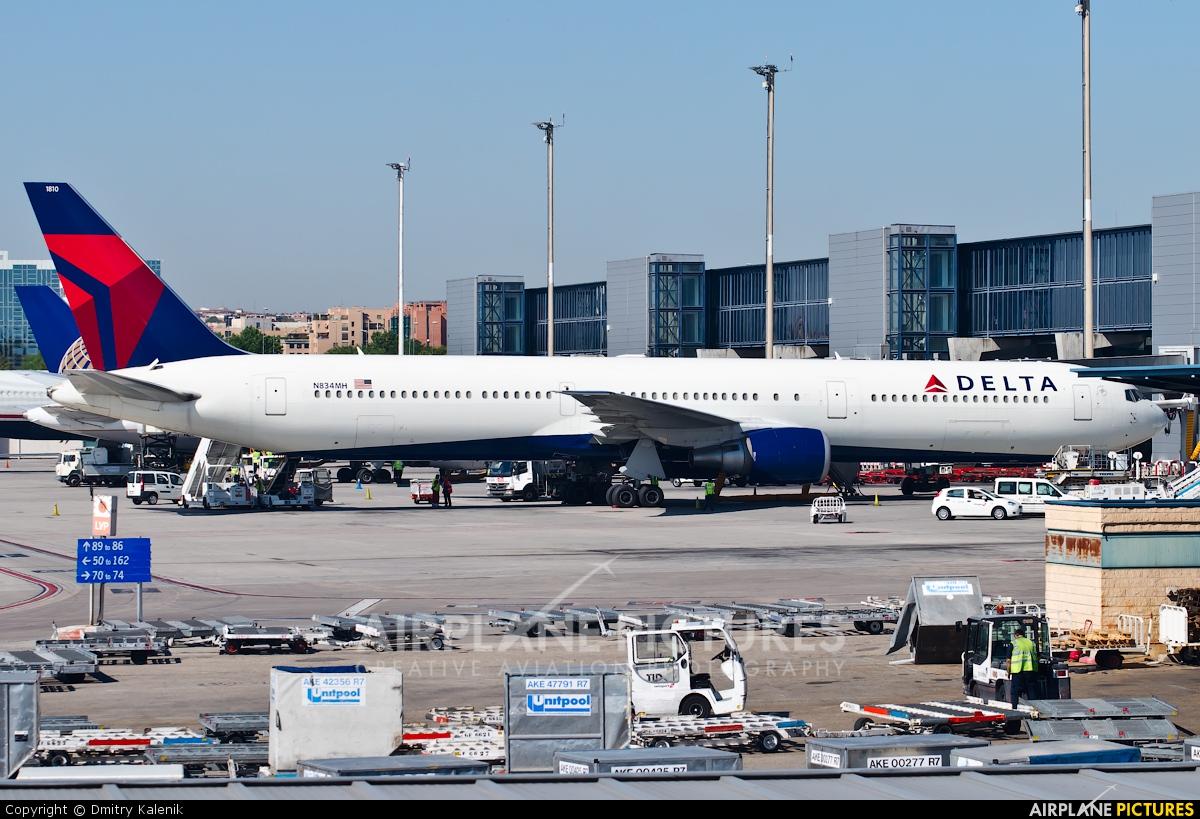Delta Air Lines N834MH aircraft at Madrid - Barajas