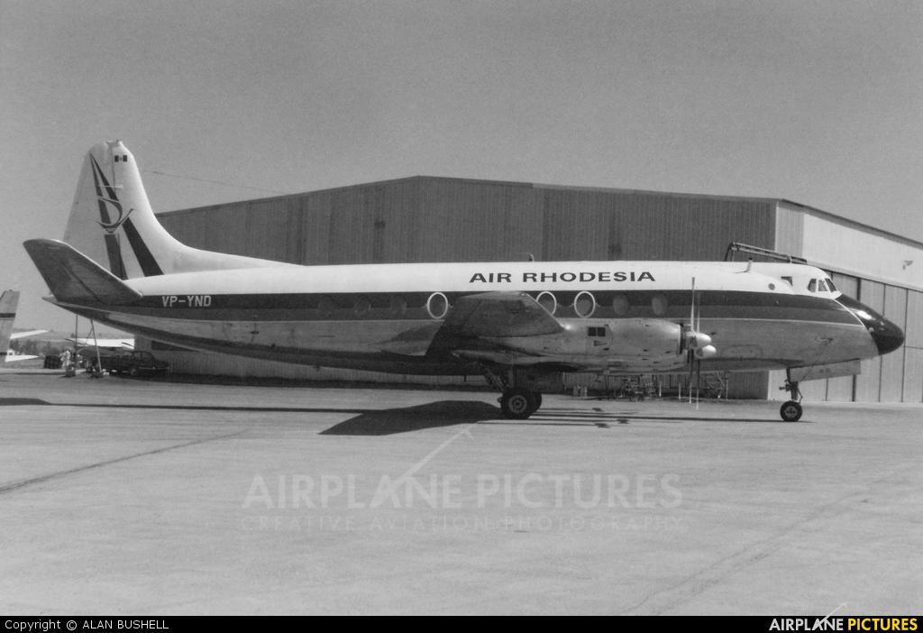 Air Rhodesia VP-YND aircraft at Lanseria