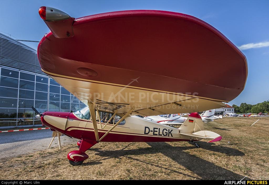 Private D-ELGK aircraft at Oberschleißheim Aviation Museum
