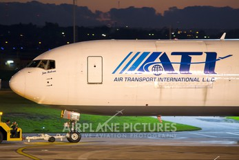 N316CM - ATI - Air Transport International Boeing 767-300F