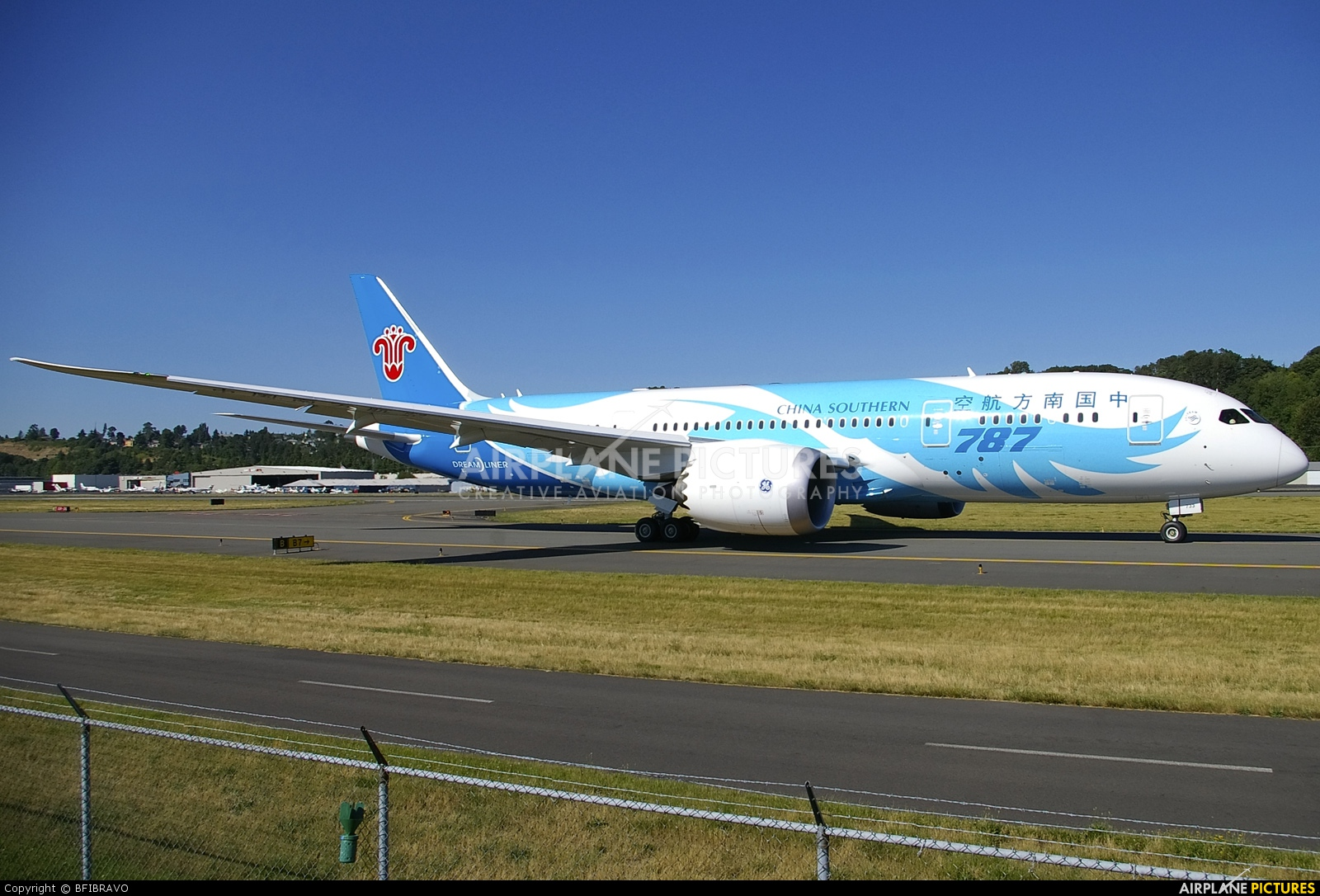 China Southern Airlines B-2733 aircraft at Seattle - Boeing Field / King County Intl