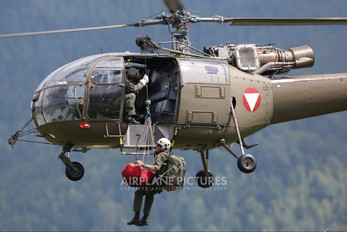 3E-LA - Austria - Air Force Sud Aviation SA-316 Alouette III