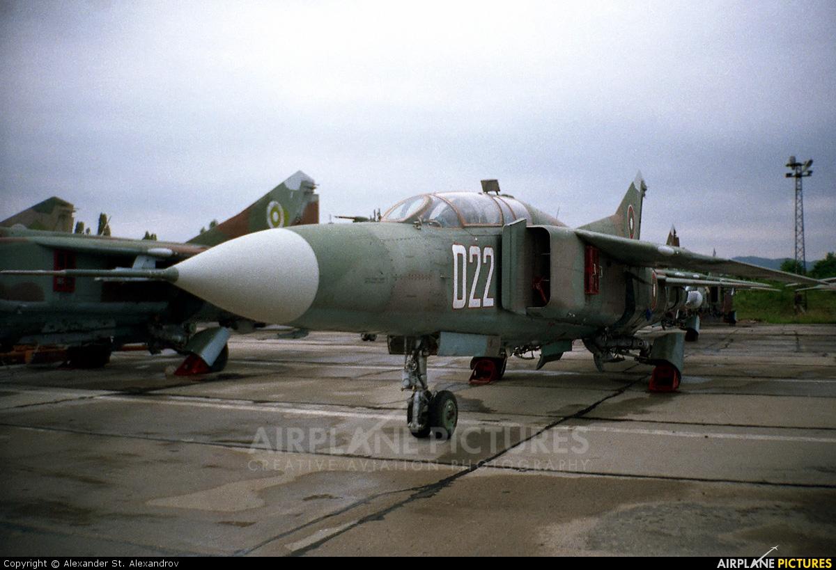 Bulgaria - Air Force 022 aircraft at Dobroslavtsi