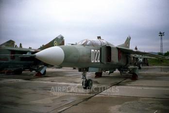 022 - Bulgaria - Air Force Mikoyan-Gurevich MiG-23UB