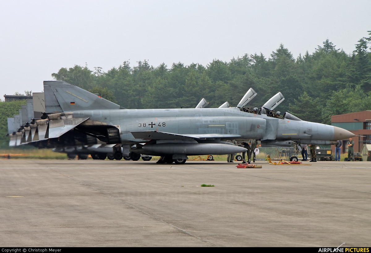 Germany - Air Force 38+48 aircraft at Jever