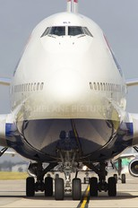 G-BNLS - British Airways Boeing 747-400