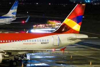 N266CT - Avianca Airbus A319