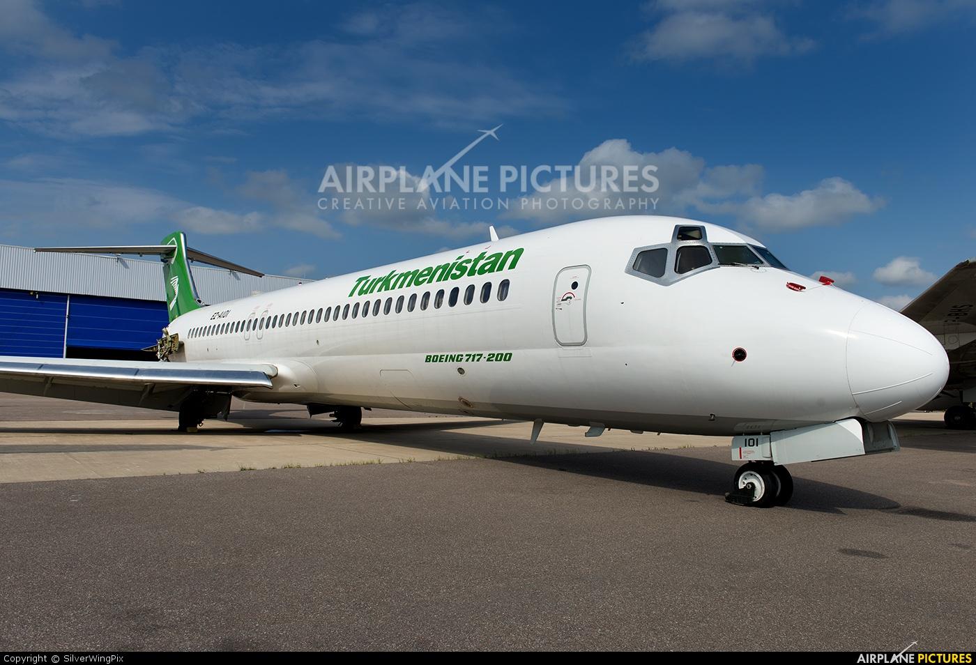Turkmenistan Airlines EZ-A101 aircraft at Stockholm - Arlanda